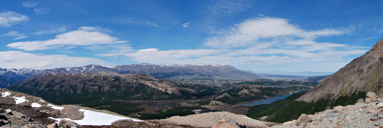 15928-30 Uitzicht vanaf Laguna de los Tres, Argentinië